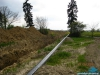 Budowa gazociągu wysokiego ciśnienia DN150 Karmin-Jarocin; wykop otwarty