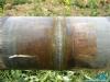 Gazociąg wykonywany jest z rur stalowych izolowanych trójwarstwową izolacją polietylenową – 3LPE wg DIN 30670; Miejsce spawu zostało zabezpieczone antykorozyjnie opaską termokurczliwą firmy GTS-65 CANUSA