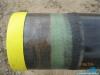 Gazociąg wykonywany jest z rur stalowych izolowanych trójwarstwową izolacją polietylenową – 3LPE wg DIN 30670;