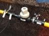 Instalacja gazowa, doziemny zawór odcinający