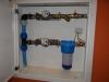 Instalacja wodna - zestaw wodomierzowy do domu i ogrodu z filtrem mechanicznym do wody
