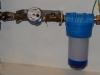 Instalacja wodna - zestaw wodomierzowy do domu z filtrem mechanicznym do wody