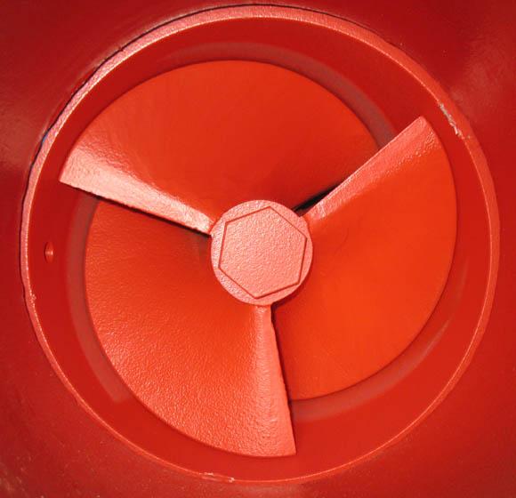 Pompa wodna wirowa odśrodkowa - wirnik pompy
