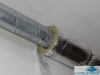 Kanał wentylacyjny stalowy SPIRO  - izolacja kanału