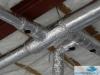 Kanał wentylacyjny stalowy SPIRO - przepustnice odcinające