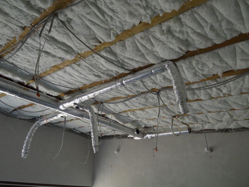 Kanały instalacji wentylacji nawiewnej z rur SPIRO