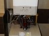 Kocioł (piec) gazowy jednofunkcyjny z zasobnikiem wody 120 l