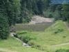Suchy zbiornik retencyjny przeciwpowodziowy w Międzygórzu
