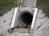 Zbiornik retencyjny Odwodnienie Autostrady A2 - Dopływ kanalizacji deszczowej do zbiornika