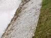 Zbiornik retencyjny Odwodnienie Autostrady A2 - Widok na umocnioną skarpę zbiornika