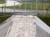 Zbiornik retencyjny Odwodnienie Autostrady A2 - Dorga serwisowa, wjazd do zbiornika