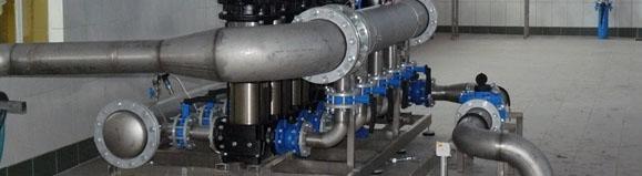 Projektowanie pompowni wody – sposoby zapobiegania kawitacji w pompach wirowych