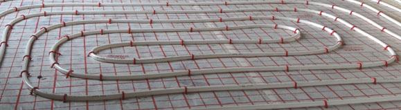 Górne źródło pompy ciepła - ogrzewanie podłogowe