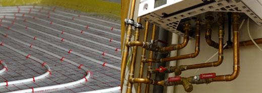 Piec co gazowy dwufunkcyjny + ogrzewanie podłogowe