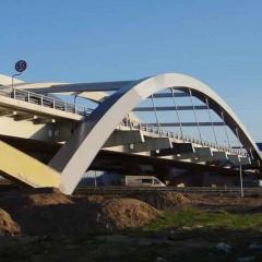 Wiadukt nad autostradą A2 – początek zachodniej obwodnicy Poznania Część 2