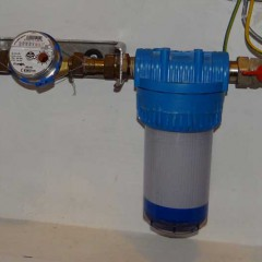Mechaniczne filtry do wody w domach jednorodzinnych