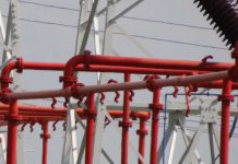 Instalacja zraszaczowa transformatorów