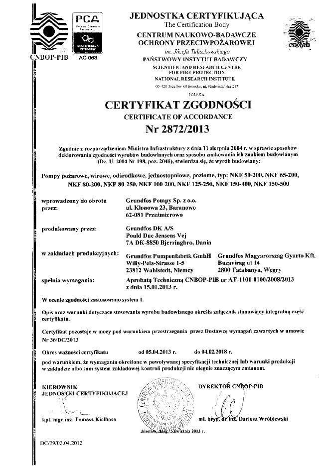 certyfikat CNBOP