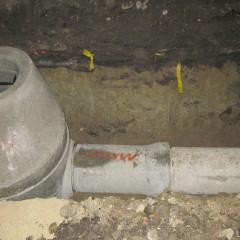 Dziurawa kanalizacja deszczowa