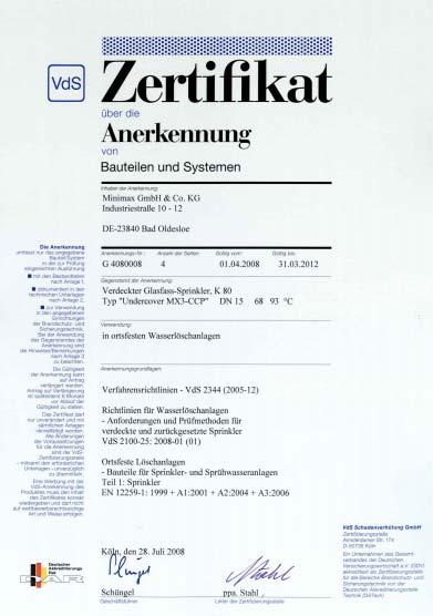 Certyfikat VdS