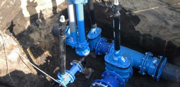 Hydrant przeciwpożarowy podziemny – schemat zabudowy DWG
