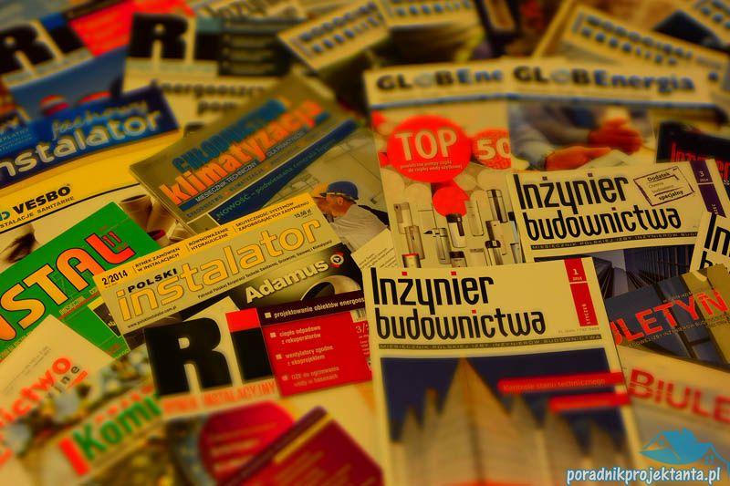 Gazety z branży instalacji sanitarnych