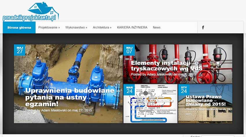 Blog z branży instalacyjnej - poradnikprojektanta.pl