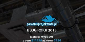 Poradnik projektanta - BLOG ROKU 2015