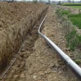 Budowa gazociągu wysokiego ciśnienia DN150 g. Dobrzyca