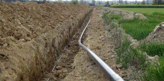 Budowa gazociągu wysokiego ciśnienia DN150 Karmin-Jarocin, gmina Dobrzyca