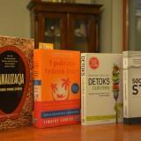 4 książki, które obecnie czytam