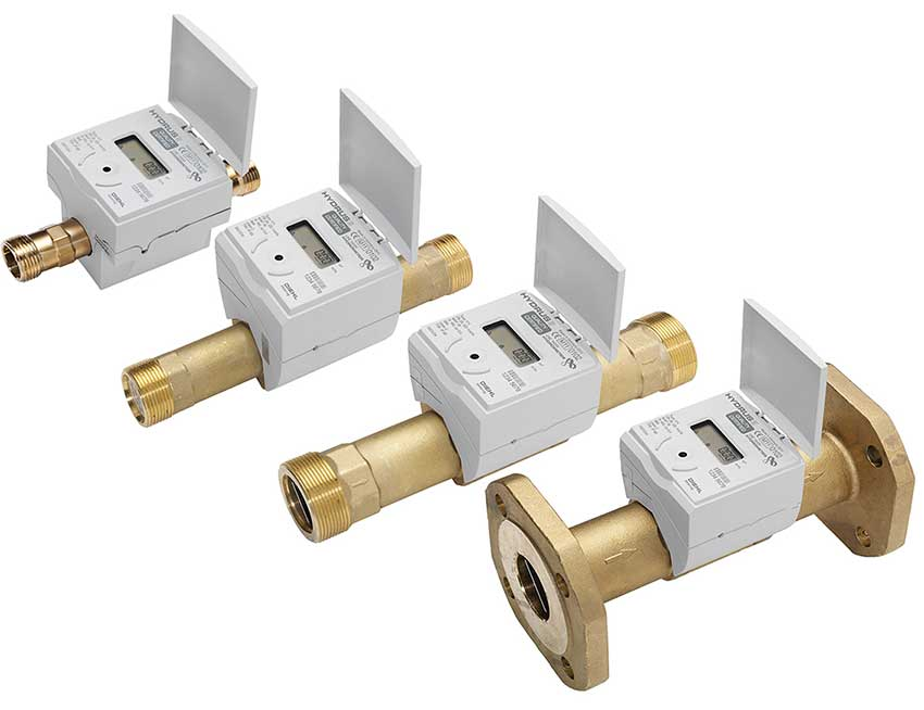 Wodomierze ultradźwiękowe Diehl, źródło: www.diehl-metering.com
