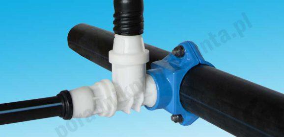 6 sposobów włączenia przyłącza wodociągowego do sieci (stal, żeliwo, PE i PVC)