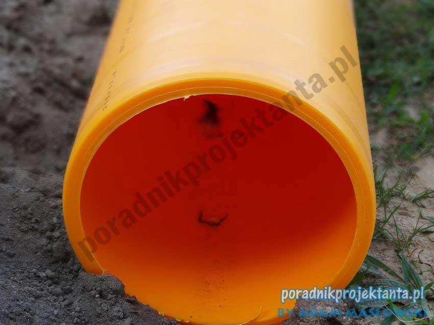 Budowa sieci gazowej - rura do gazu PEHD100 SDR 17,6 Dz315x17,9 wg PN-EN 1555-2