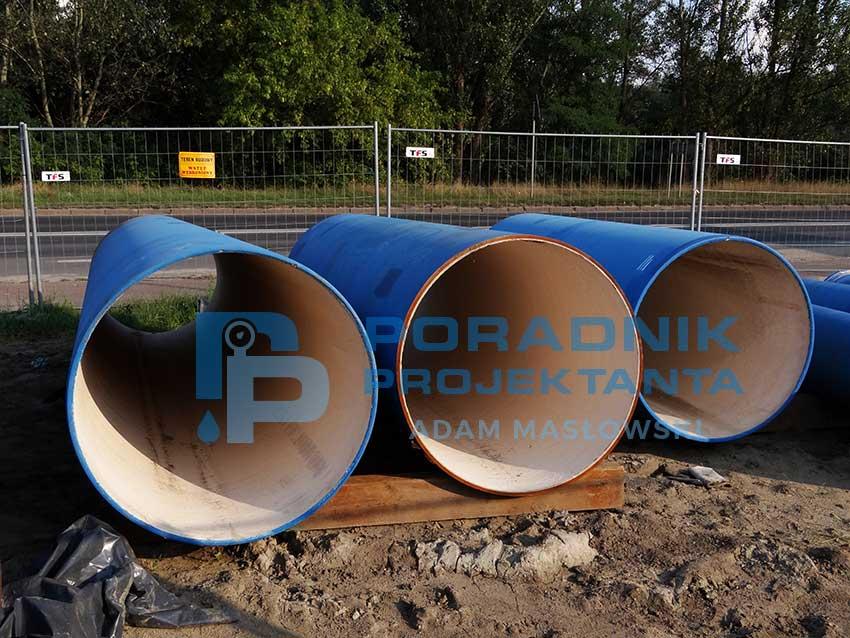 Budowa sieci wodociągowej magistralnej