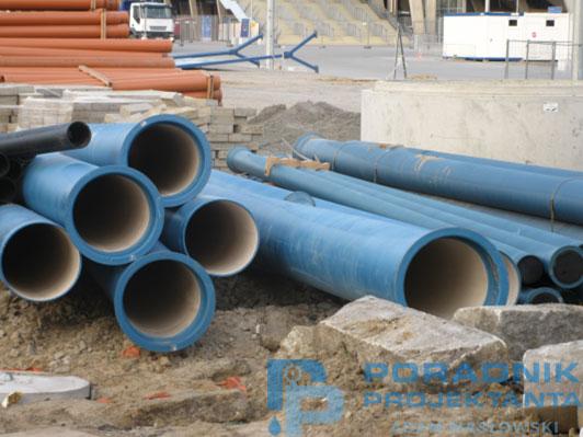 Rury z żeliwa sferoidalnego do budowy sieci wodociągowych (fot. własna)