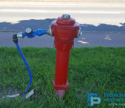Projektowanie sieci hydrantów zewnętrznych