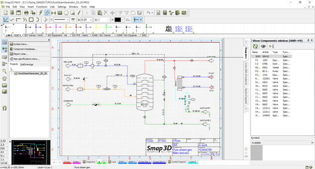 Dodatkowym rozszerzeniem możliwości SOLIDWORKS w zakresie projektowania instalacji jest dodatek – Smap3D