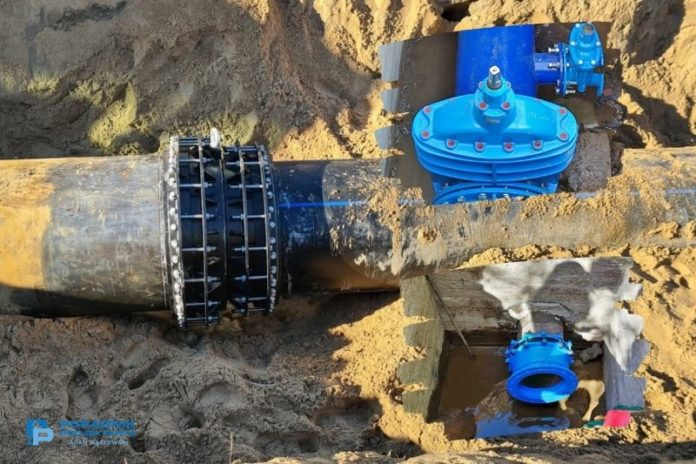 Budowa sieci wodkan - realizacje i naprawy